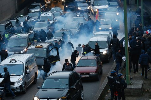 france-taxi-strike
